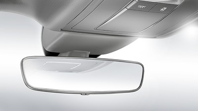 Auto-dimming rear-view mirror