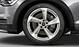 Легкосплавные диски Audi Sport, дизайн «5 рукавов Turbine», полированные, размер 8.5J x 19