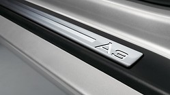 "Door sills, illuminated, with the ""A3"" logo"