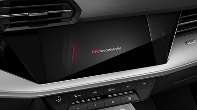 "MMI Navigation Plus with high-resolution 10.1"" touch screen, colour display"