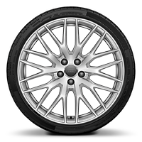 "20"" x 9.0J '10-Y-spoke' design alloy wheels with 255/30 R20 tyres"