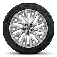 Alloy wheels, 10-spoke Y-style, 8.5J x 19, 245/45 R19 tires