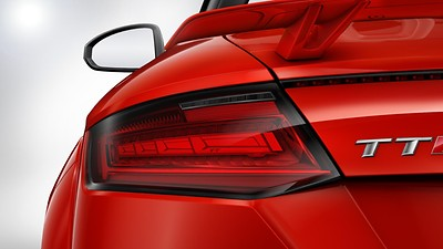 Audi Matrix OLED tail lights