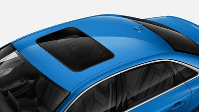 Electric tilt/slide sunroof