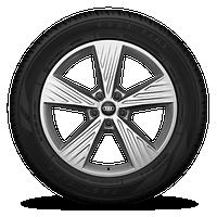 "19"" 5-arm-style design wheels"
