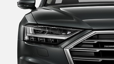 Audi LED headlights