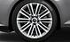 Aluminium-Gussräder Audi Sport im 10-V-Speichen-Design, glanzgedreht, Größe 8,5 J x 19, mit Reifen 245/35 R 19