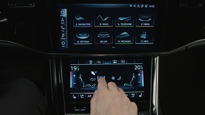 4-zone deluxe automatic climate control