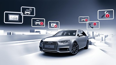 Audi connect noodoproep & service incl. myCarManager