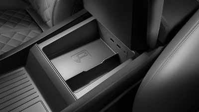 Audi phone box mit Wireless Charging