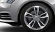 Cast alumin. alloy wheels, 5-twin-spoke design, contrast. grey, part. polished, 8J x 18, with 245/40 R18 tyres