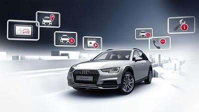 Audi connect Notruf & Service