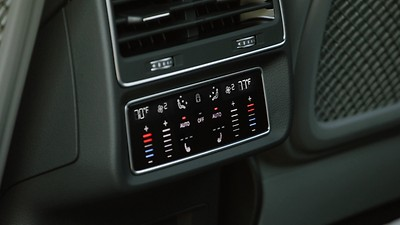 Four-zone automatic climate control system