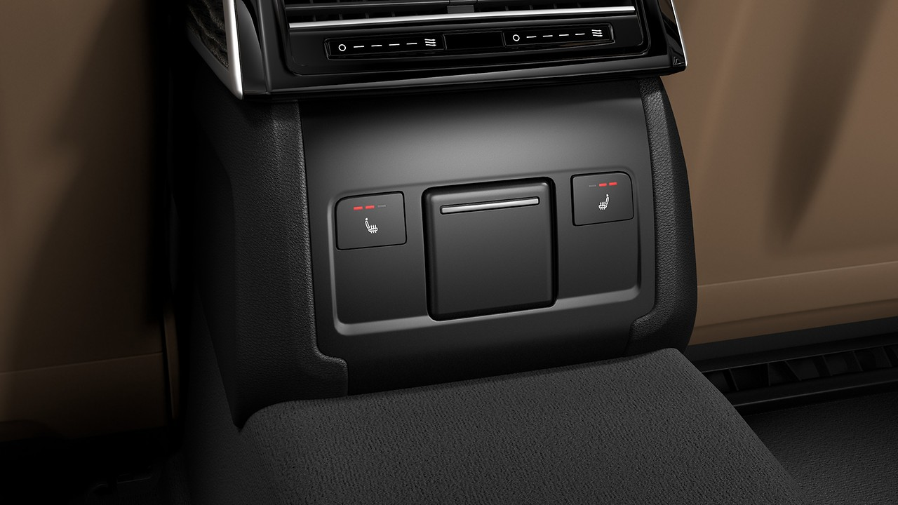 Heated front and rear seats
