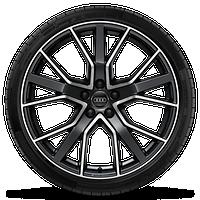 Audi Sport 5V輻星型,20英寸鋁合金輪輞,輪胎265/40 R20