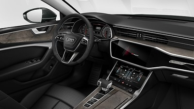Controls in Alcantara®/leather, Audi exclusive