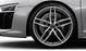 Кованые алюминиевые диски, дизайн «5 двойных спиц», titan матовый, с полированной обводкой, размер 8,5J х 19 спереди и 11J х 19 сзади