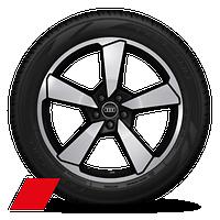 "20"" 5-arm cutter design wheels"