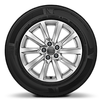 "16"" alloy wheels in 10-spoke design"