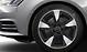 Легкосплавные диски Audi Sport, дизайн «5 рукавов Pylon», черные matt, с полированной обводкой, размер 8J x 18