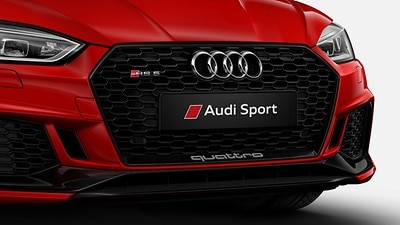 Audi exclusive high-gloss black styling package