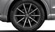 Aluminium-Gussräder Audi Sport im 10-Speichen-Design, Titanoptik matt, glanzgedreht, Größe 8,5 J x 19, mit Reifen 255/40 R 19