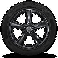 铝合金车轮,5辐黑色 7J x 18