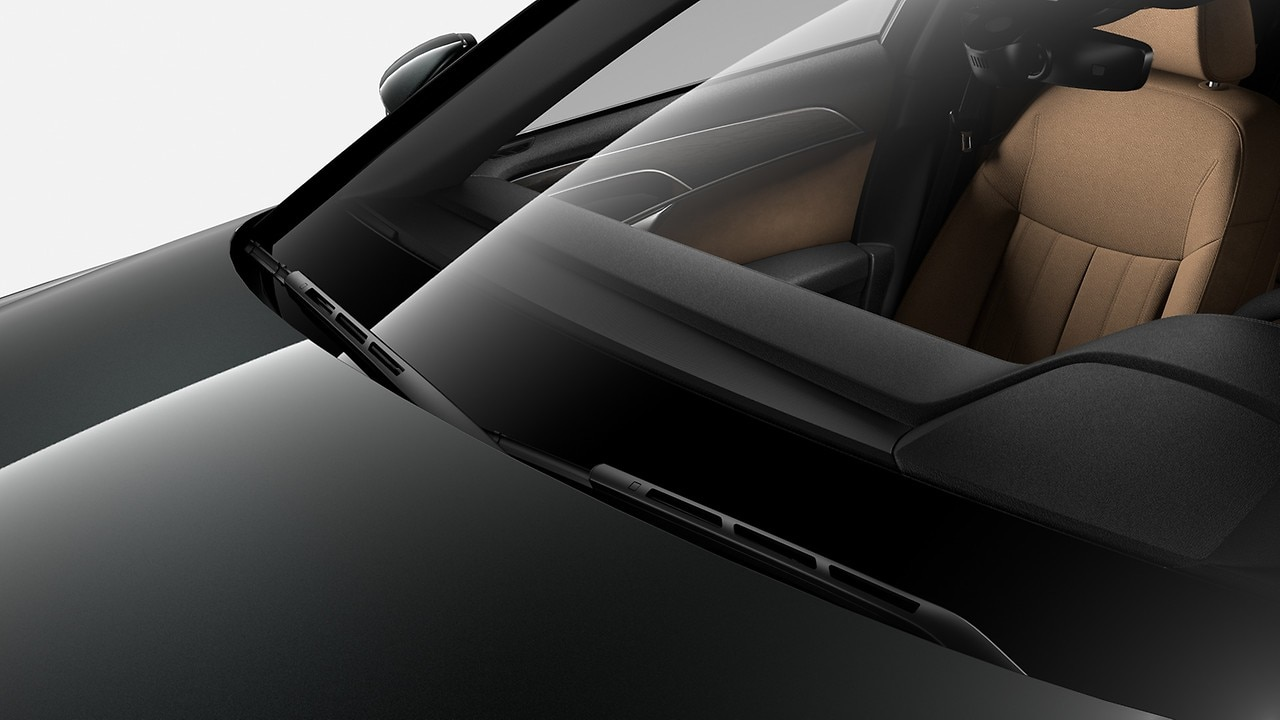 Adaptive windscreen wipers with integrated washer jets