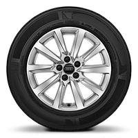 "16"" '10-spoke' alloy wheels"
