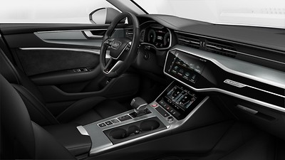 Upper interior elements in leatherette