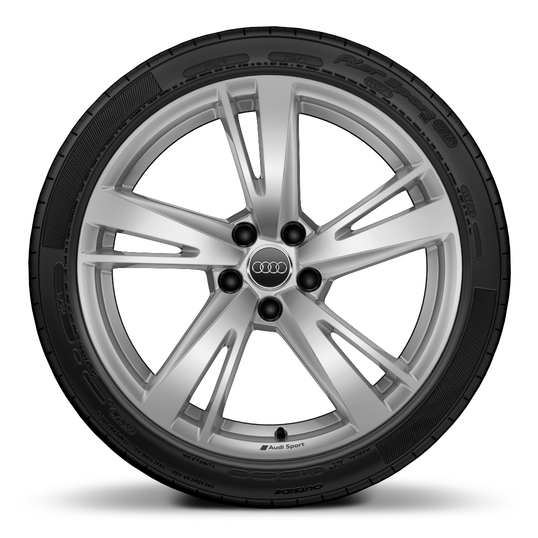 "19"" x 8J '5-arm' blade style with 235/35 R19 tyres"
