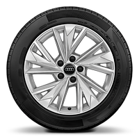 "17"" '5-W-spoke style' alloy wheel"