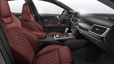 Audi design selection Arras red