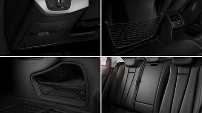 Storage compartment and luggage compartment package