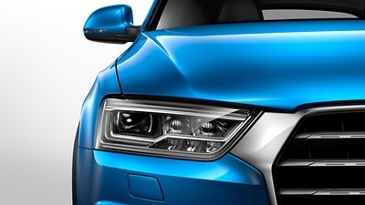 All-weather LED headlights including LED rear lights with Dynamic Rear Indicators