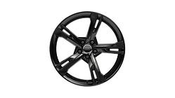 Winter-Aluminium-Gussrad im 5-Arm-Ramus-Design, schwarz glänzend, 9 J x 20