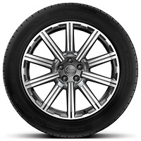 20 x 9J '10-spoke star' design alloy wheels with 285/45 R20 tyres