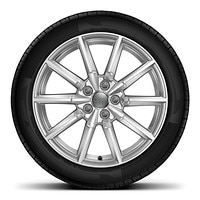 "18"" x 8.5J '10-spoke' design alloy wheels with 245/40 R18 tyres"