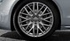 Aluminium-Gussräder Audi Sport im 10-Y-Speichen-Design, Größe 9 J x 19, mit Reifen 255/35 R 19