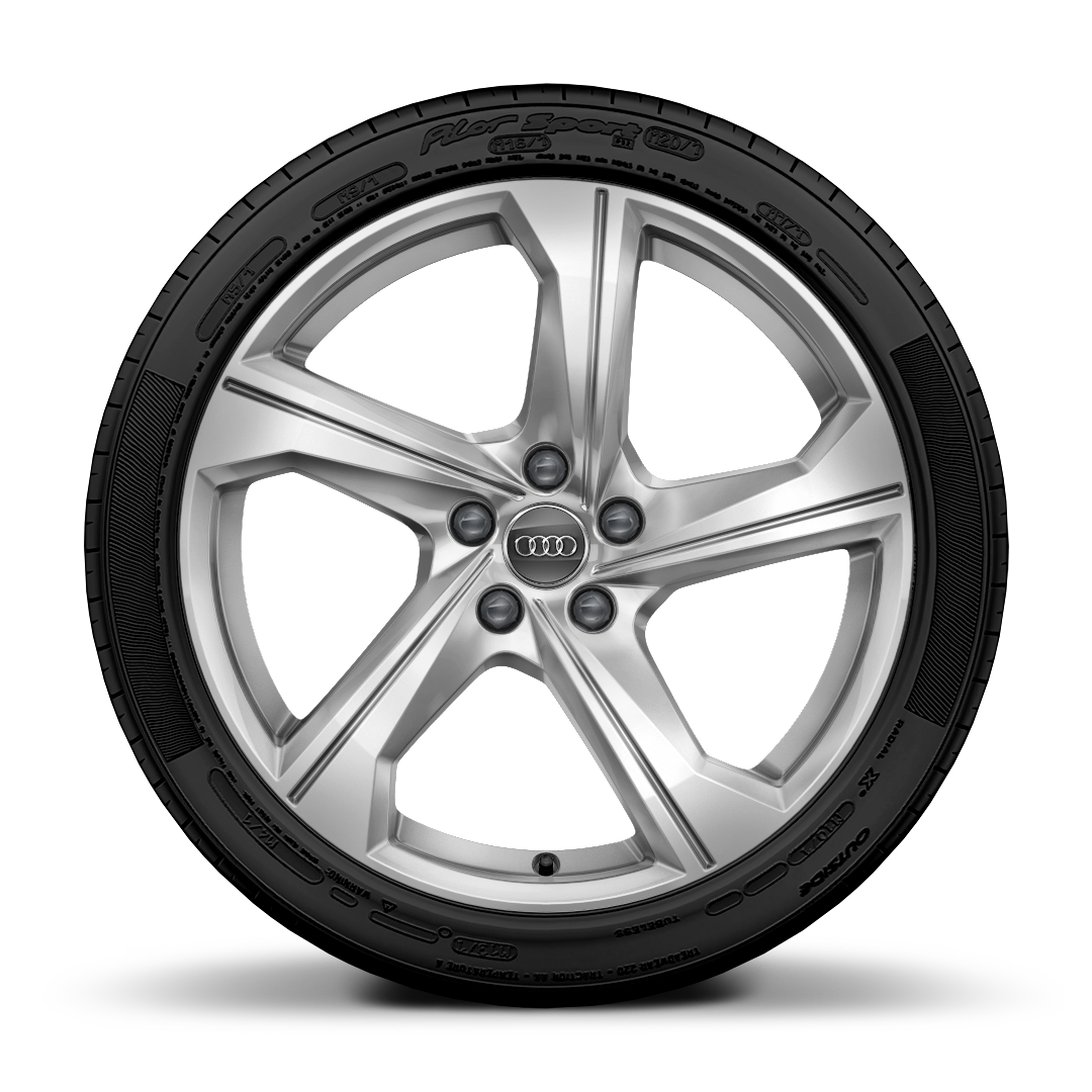 "19"" x 8.5J '5-arm dynamic' design alloy wheels with 245/45 R19 tyres"