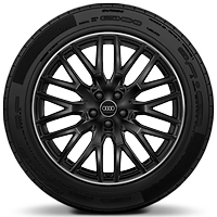 "20"" x 9.0J '10-Y-spoke' design alloy wheels with 285/45 R20 tyres"
