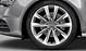 Forged aluminium alloy wheels, 5-spoke V design
