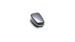 Schlüsselblende mit Audi Ringen, daytonagrau
