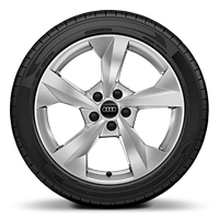 "18"" x 8.0J '5-arm dynamic' design alloy wheels with 225/40 R18 tyres"