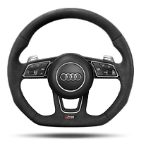 3-spoke flattened RS sports steering wheel