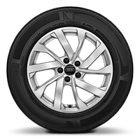 "16"" '10-spoke turbine' alloy wheels"