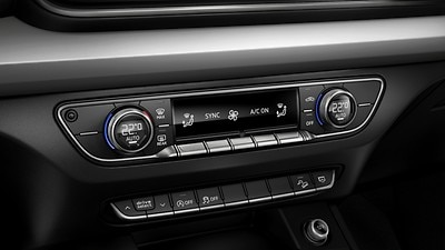 Deluxe 3-zone electronic climate control