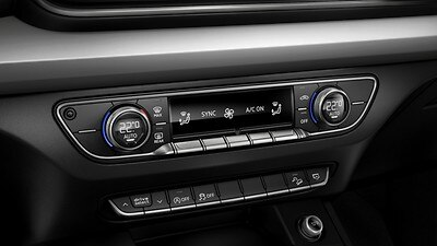 Three-zone climate control system