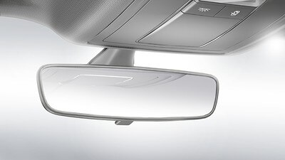 Dimming interior rearview mirror