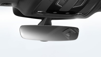Auto dimming rear-view mirror
